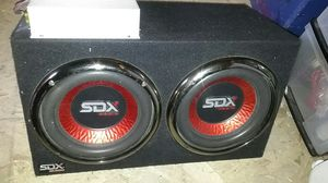 "SDX Audio Car Amp Amplifier 400w/ 10"" woofer for Sale in Lemon Grove, CA"