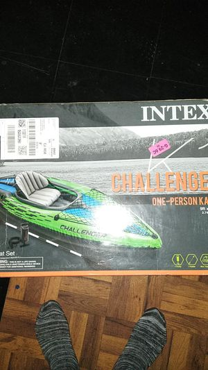 INTEX CHALLENGER..STILL BRAND NEW IN THE BOX for Sale in Detroit, MI