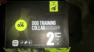 Dog care 2 collar training set for Sale in Oklahoma City, OK