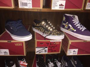 Vans tennis shoes for Sale in Pasadena, TX