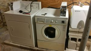 Coin op washer/dryer and water heater for Sale in Boston, MA