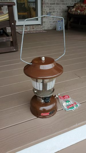 Coleman Camp Lantern for Sale in Grayslake, IL