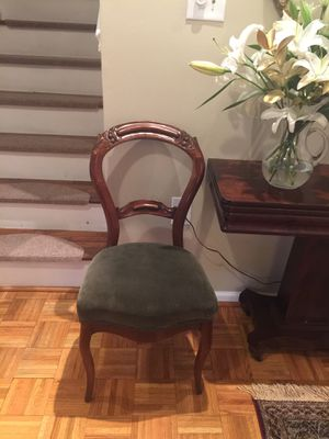 2 side antique chairs for Sale in Rockville, MD