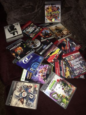Ps2 PS3 Xbox 360 games for Sale in Fresno, CA