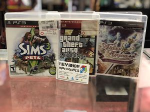 PlayStation 3 pS3 games - all for Sale in Houston, TX