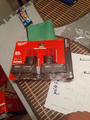 Two 3.0 batteries Milwaukee new for Sale in Concord, CA
