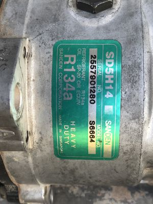 Heavy duty a/c compressor for Sale in Gilbert, AZ