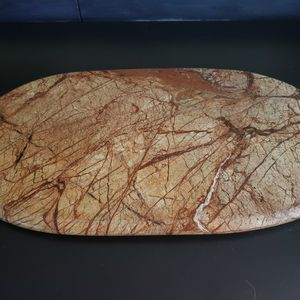 Crate & Barrel Marble Oval Cheese Board for Sale in Portland, OR