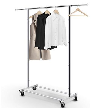 Clothing Rack - Rolling Clothes Organizer for Sale in Rockville, MD