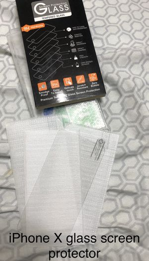 iPhone X glass screen protector for Sale in Los Angeles, CA
