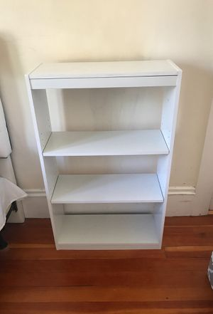 White Bookcase for Sale in Providence, RI