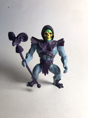 REISSUE💥 MOTU Soft Head Half boot Skeletor Figure with Staff for Sale in Boynton Beach, FL