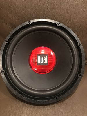 """Dual 12"""" subwoofer for Sale in Licking, MO"""