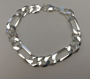 Silver 925 Figaro bracelet for Sale in Los Angeles, CA