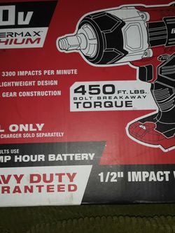"""Baur 1/2 """" Impact Wrench for Sale in Springfield,  IL"""