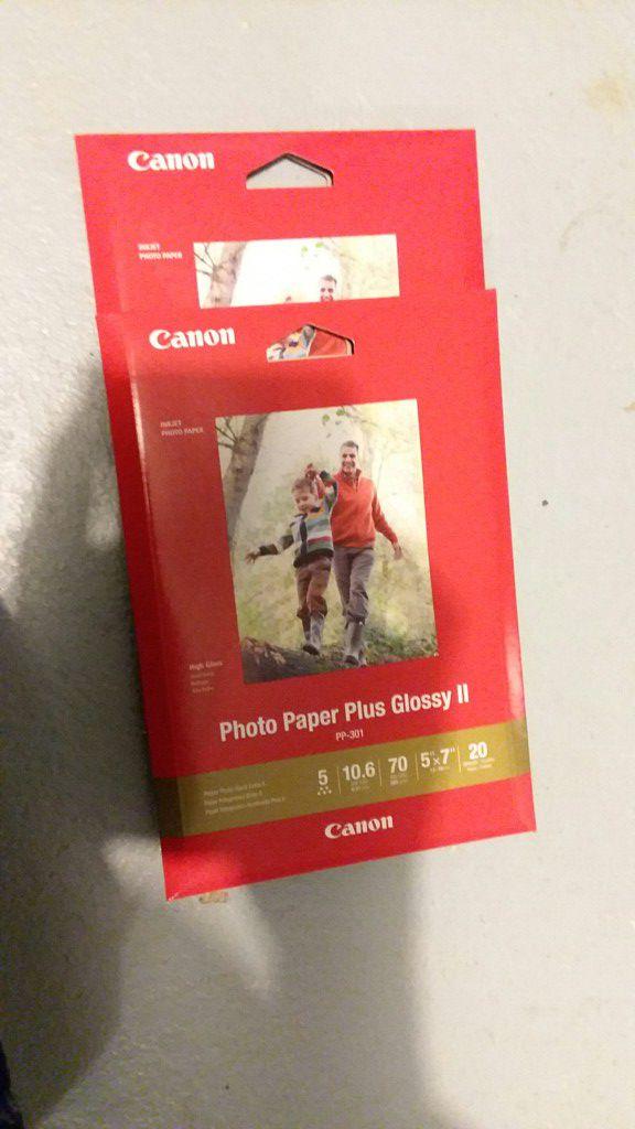 Canon Photo Paper - Brand New!!!