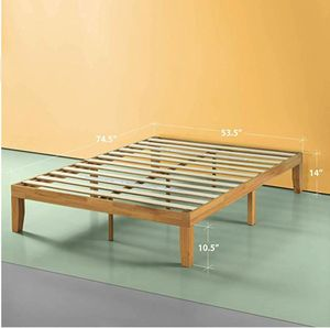 Bed frame new in box brand ZINUS platform bed full for Sale in Brooklyn, NY