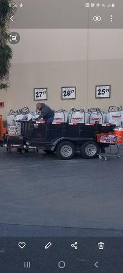 Hydraulic dump trailer 5x10x3 $5100 for Sale in Los Angeles,  CA