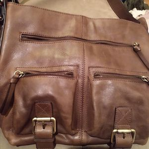Nino bossi Leather Buckle Handbag for Sale in Woodburn, OR