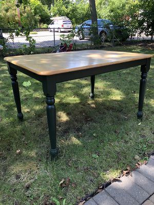 Kitchen breakfast Beautiful wooden table for Sale in Libertyville, IL
