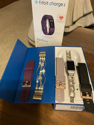Fitbit charge 2 - all bands included for Sale in Leesburg, FL