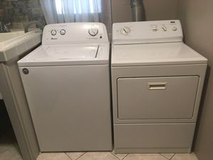 Amana Washer and Kenmore Dryer for Sale in Shorewood, IL