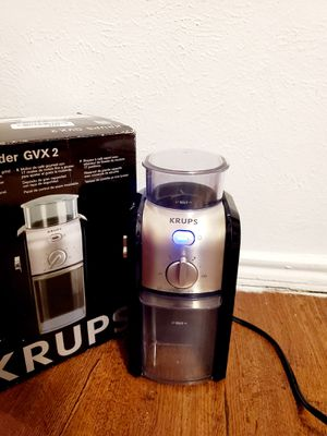 Coffee Grinder Flat Burr Electric Built In Programmable Kitchen Small Appliances for Sale in Dallas, TX