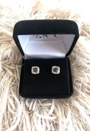 NEW Blue diamond Earrings-Kay Jewelers for Sale in Goodyear, AZ
