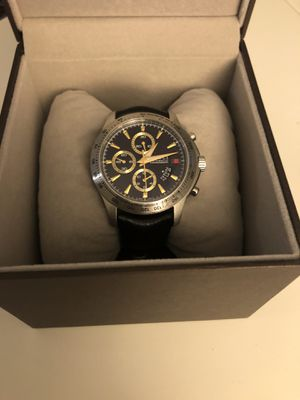 Gucci Watch, Men's Swiss Chronograph G-Timeless Black Diamante Leather Strap 44mm YA126237 for Sale in Arlington, VA