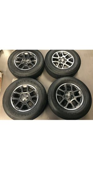 """18"""" Jeep Gladiator Overland Wheels and Tires Brand New Takeoffs JT JK JL OEM for Sale in Tomball, TX"""