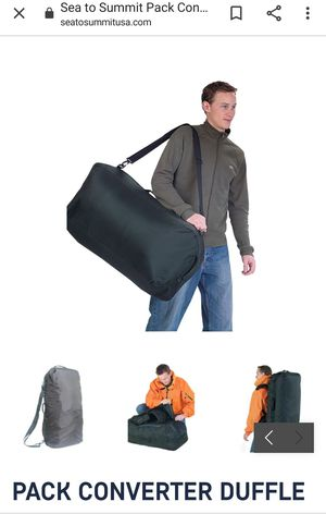 Sea to Summit duffle bag for Sale in Westminster, CA