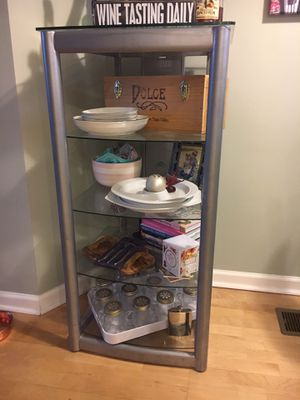 Glass shelving/storage for Sale in Nashville, TN