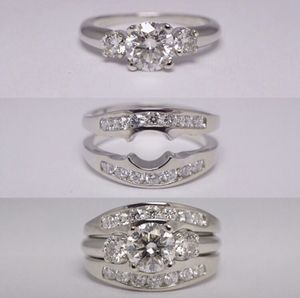 14kt White Gold engagement/wedding ring for Sale in Dublin, OH