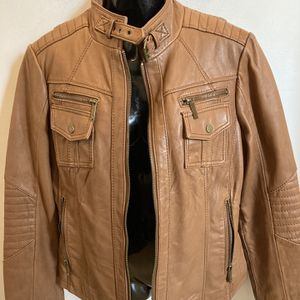 Michael Kors Leather Jacket, Size Large for Sale in Portland, OR