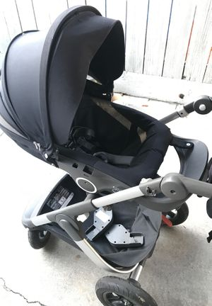 Stokke stroller with nuna car seat adapter for Sale in Hayward, CA