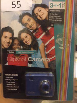 Clip shot Camera| 3 in 1 | Camera. Video Camera. Web Cam. for Sale in Euless, TX