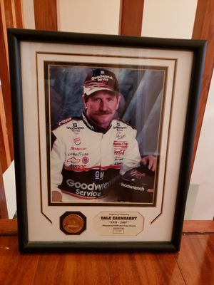 Dale Earnhardt Framed Collectible for Sale in Davie, FL