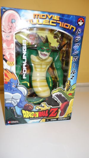 RARE SEALED DRAGONBALL Z MOVIE COLLECTION PORUNGA ACTION FIGURE for Sale in Dallas, TX