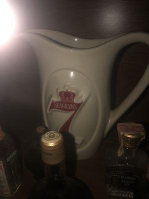 Vintage Seagrams 7 liquor Pitcher for Sale in HOFFMAN EST, IL