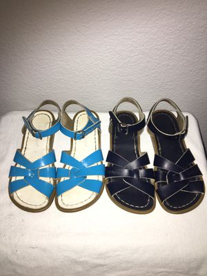 Salt water sandals size 2 for Sale in Riverbank, CA