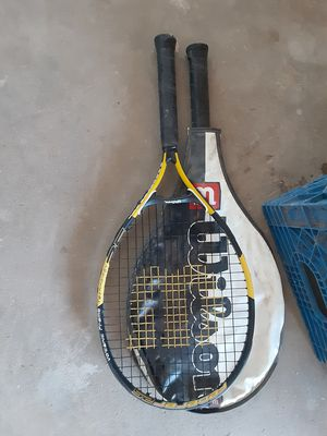 2 Wilson tennis rackets for Sale in Youngtown, AZ