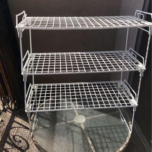 White Wire Racks for Sale in San Gabriel, CA