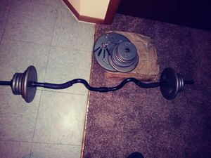 Weights Curl Bar for Sale in Fort Worth, TX
