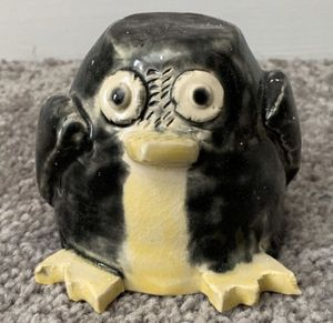 Handmade Resin Painted Stand Owl Figurine Home Decoration Accent for Sale in Chapel Hill, NC