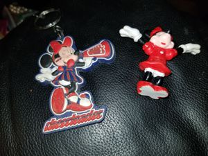 Disney Minnie Mouse figure & keychain for Sale in Gresham, OR