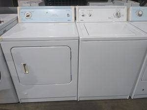 SUPER CAPACITY & HEAVY DUTY GAS DRYER WITH 2SPED MOTOR AND 3 SPD COMBINATIONS WASHER!! KENMORE 🏡💛 for Sale in Long Beach, CA