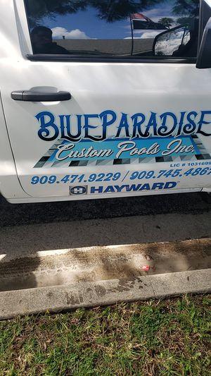 Blue Paradise custom pools for Sale in Fontana, CA