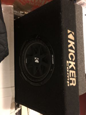 Kicker subwoofer 🔊 sub 10 inch for Sale in Nashville, TN