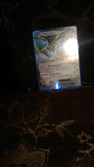 Pokemon card name is Al t a r i a a GX Pokemon card x + 170 + 100 30 + 80 for Sale in Dinuba, CA