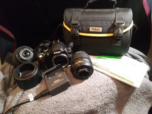 """NIKON"" D40X DIGITAL CAMERA AND ACCESSORIES for Sale in Carlsbad, CA"